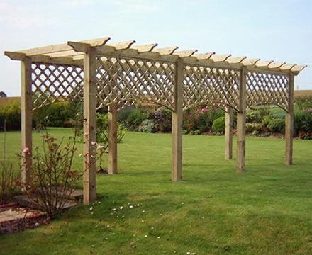 Vurley Fencing Garden Structures Pergodas Arches